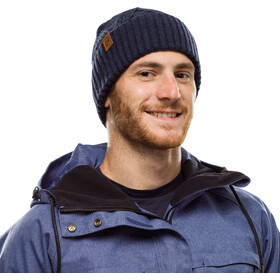 Buff Lifestyle Knitted and Polar Fleece Hat artur night blue